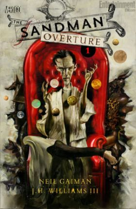 The Sandman: Overture cover by David McKean