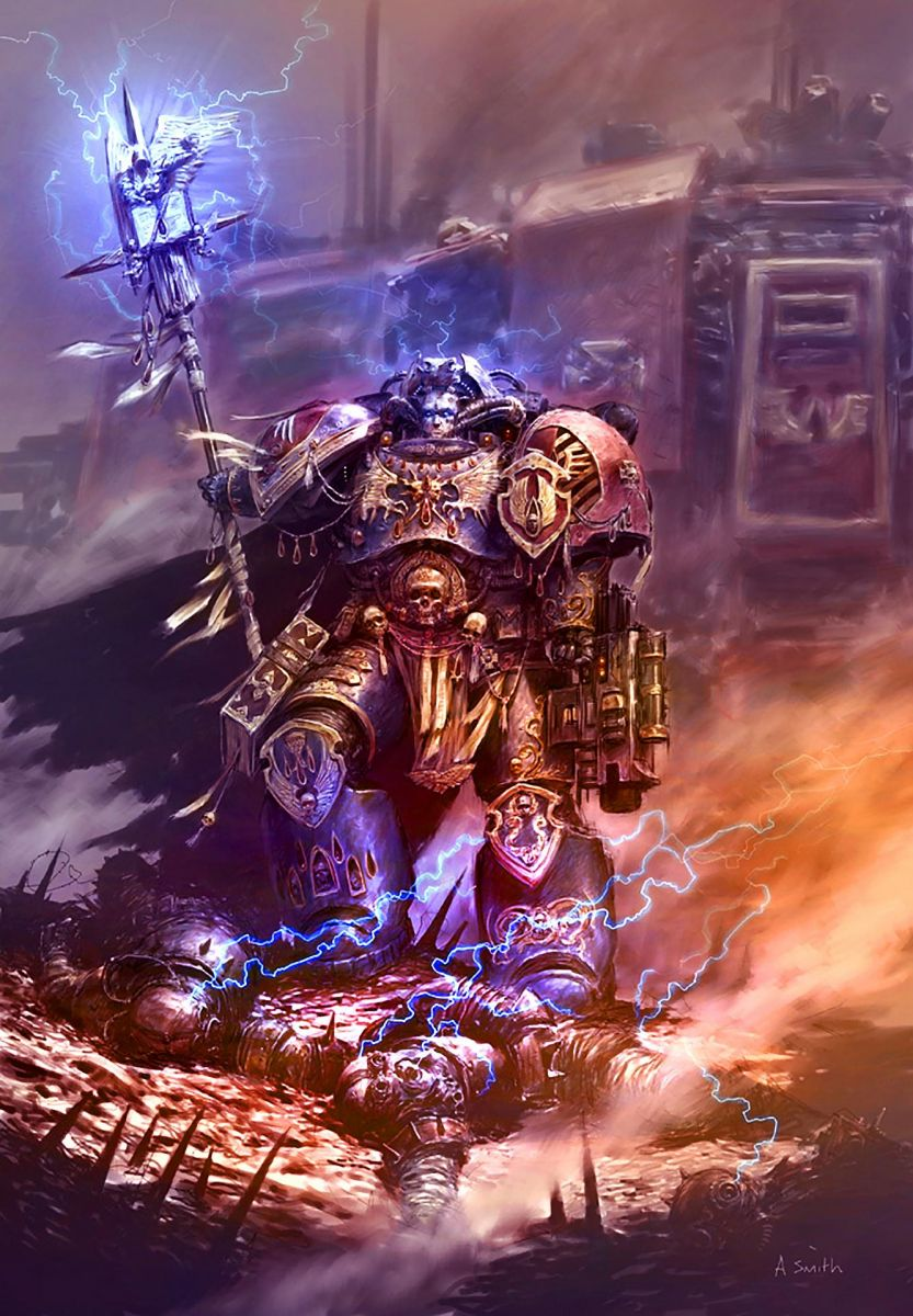 Librarian in WH40k
