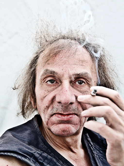 Michel Houellebecq (forrás: Bookforum)